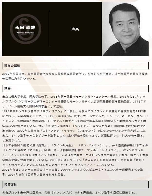 永田峰雄さんの顔画像