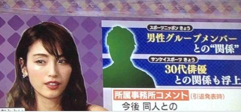 木下優樹菜と男性グループの30代メンバー兼俳優X